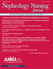 Nephrology Nursing Journal | American Nephrology Nurses Association